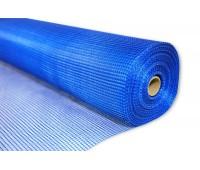 Сетка фасадная 5х5 (1х30) синяя 160 г/м