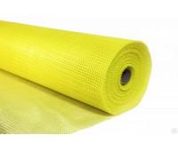 Сетка фасадная 5х5 (1х30) желтая 145 г/м