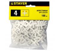 Крестики 4 мм для кафеля 100 шт. Stayer