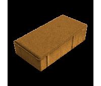 Тротуарная плитка Брусчатка (Кирпич) 200х100х40 Оранжевый