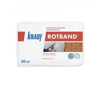 Ротбанд штукатурка 30кг гипсовая Knauf