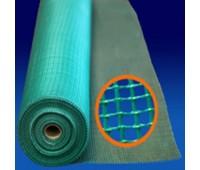 Сетка Фасадная Синяя Размер ячейки: 5*5 мм, 160 гр/м.кв., 1х25м